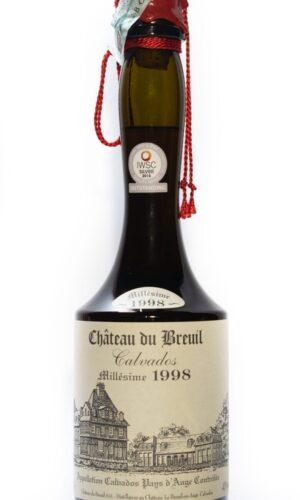 Calvados Millésime 1998 - Château du Breuil