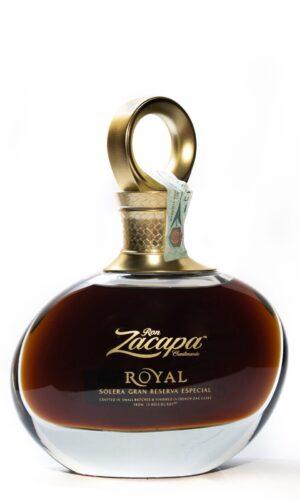 """Rum Solera Gran Reserva Especial """"Royal"""" Zacapa"""