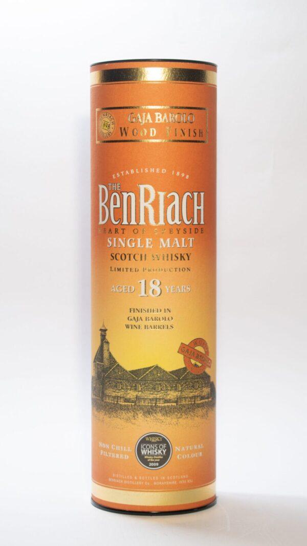 BenRiach 18 Years Old Gaja Barolo Spey Side Scotch Whisky