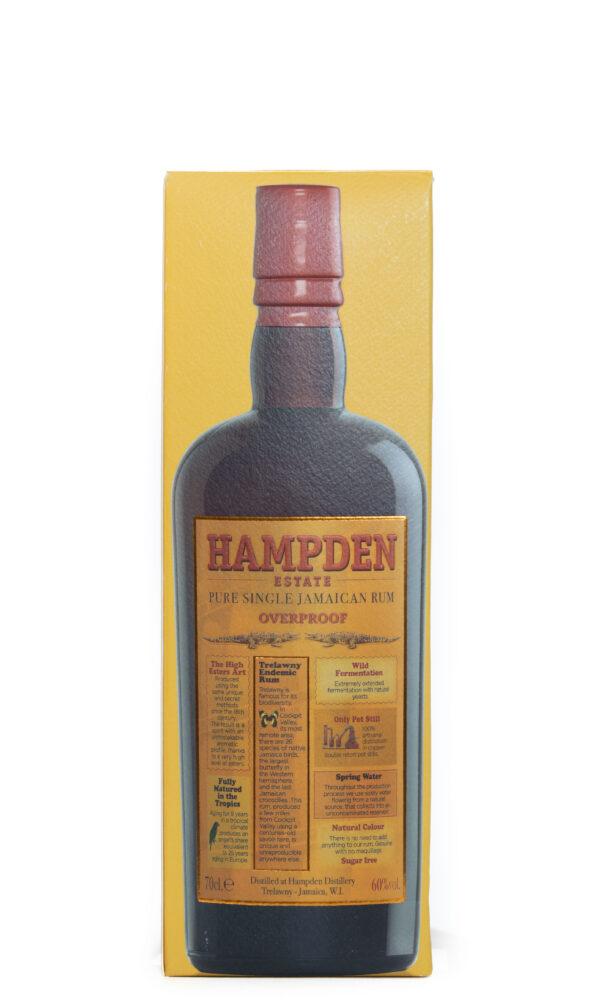 Pure Single Jamaican Rum Overproof Hampden Estate