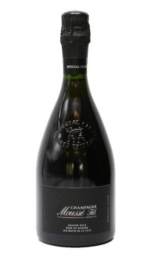 Champagne Extra Brut Les Fortes Terres 2015 Moussé Fils