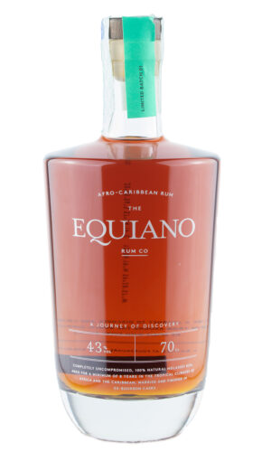 The Equiano Afro Carribean rum