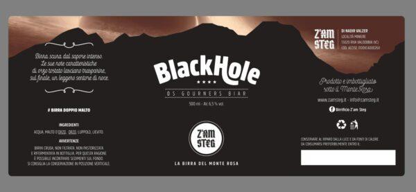 Blackhole Birrificio Z'Am Steg